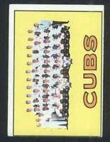 1967 Topps #354 Cubs Team VG/VGEX Cubs 36980