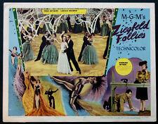 ZIEGFELD FOLLIES FRED ASTAIRE LUCILLE BREMER 1945 LOBBY CARD #8