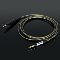 Silver Plated Replace Audio Cable For AKG K450 K451 K452 Q460 K480 headset