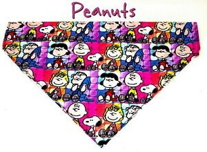 Peanuts Snoopy Dog Bandana Over the Collar dog bandana Dog collar bandana