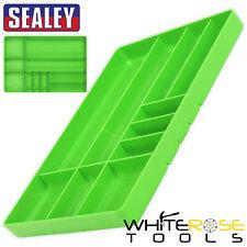 Sealey Tool and Parts Organiser Tray Premier Hi-Vis Green 405 x 280 x 40mm