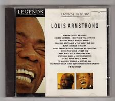 (GZ249) Louis Armstrong, Legends In Music - Louis Armstrong - CD