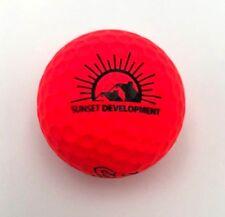 Sunset Development Logo Golf Ball (1) Vice Pro Soft Preowned