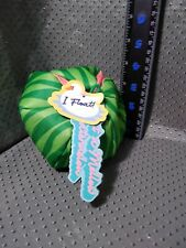 Bark Box What A Mellow Watermelon Floats Squeaky Crinkle Dog Toy