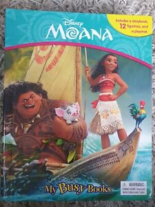 "Disney's Moana Movie 12 Mini Plastic Figures Bundle - Approx 1 - 3"" Disney Store"