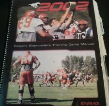 Cfl Training Camp Manual Calgary Stampeders 2002