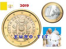 PIECE   DE  1  EURO   VATICAN   2019    NEUVE       RARE   2019  2019 disponible