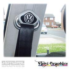 Vinyl Car Decal Sticker Pack - (PAIR) Seatbelt Shroud Logos - VW Golf MK4