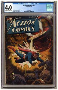 Action Comics 108 (CGC 4.0) Classic molten metal cover; DC Comics; 1947 C101