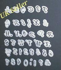 NEW Die Cutter Alphabet A-Z And Numbers 1-9 Birthday Card Letters Paper Craft