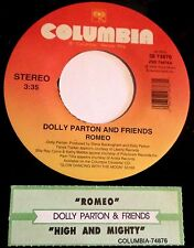 Dolly Parton & Friends 45 Romeo / High And Mighty  w/ts  NM