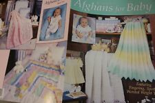 Leisure Arts Crochet Pattern 2211 Afghan for Baby Book 5