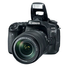 "Canon EOS 80D 18-135mm IS USM 24.2mp 3"" DSLR Digital Camera New Cod Agsbeagle"