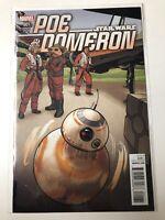 POE DOMERON #1 STAR WARS JOE QUINONES BB-8 VARIANT COVER MARVEL COMIC BOOK
