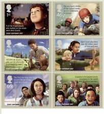 6 Number Great Britain Stamps Superb