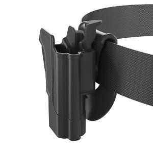 Orpaz for Jericho Enhanced 9mm Holster Polymer Frame Level II OWB Paddle Holster