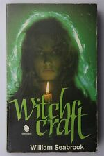 Witchcraft William Seabrook 1970 Vintage Occult Horror Necromancy Book