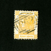 Hong Kong Stamps # 13 F-VF Used