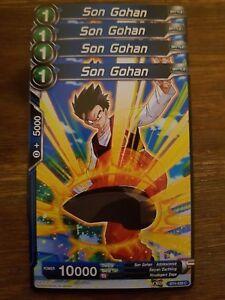 4x Son Gohan - Dragon Ball Super Card Game