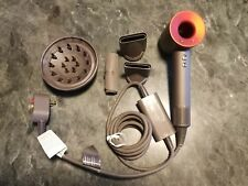 Dyson Supersonic Hair Dryer Red/Grey w/Attachments