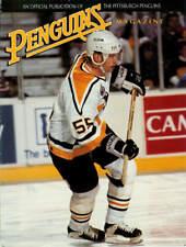 Oct. 9, 1993 - Pittsburgh Penguins vs New York Rangers Game Program Vintage Rare