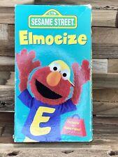 Sesame Street - Elmocize (VHS, 1996)