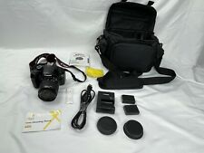 Canon EOS Rebel T3 Digital SLR Camera With Case, Battery, And Cable