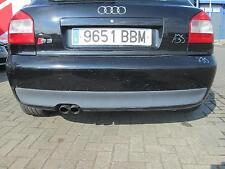 Stoßstange hinten Audi S3 8L Facelift BRILLIANTSCHWARZ LY9B schwarz A3
