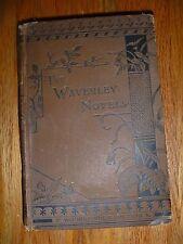VTG 1878-80 The Waverley Novels Quentin Durward by Sir Walter Scott ILLUSTRATED