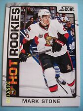 "2012-13 Score ""Hot Rookies"" Card # 548 Mark Stone RC!"