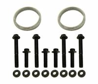 TrackTech Exhaust Up-Pipe Gasket Bolt Nut Kit For 94-03 7.3L Powerstroke
