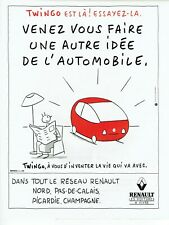 Publicité Advertising 320 1993  Renault   Twingo essayez- la