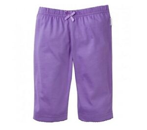 Gerber Baby Girl 3-Pack Purple Pant Size 0-3M; Baby Clothes Shower Gift!