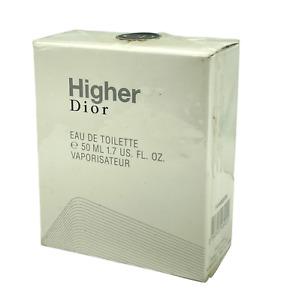 Christian Dior Higher Dior Eau De Toilette 50ml/1.7oz. New In Box & Sealed