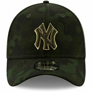 New Era New York Yankees 39THIRTY Armed Forces Stretch-Fit Hat Size S/M  L/XL