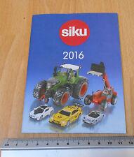 SIKU 2016 catalogue