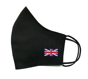 UK Flag Face Mask Protective Covering Washable Reusable Breathable union jack