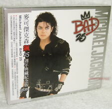 Michael Jackson Bad 25 Taiwan Ltd 2-CD w/BOX