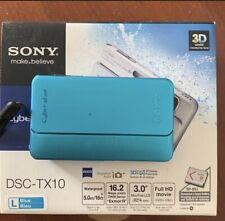 Sony Digital Camera Cyber-shot DSC-TX10 1620 Million Pixels CMOS Optical X4