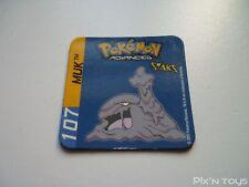 Magnet Staks Pokémon Advanced / 107 Muk / Panini 2003 [ Neuf ]