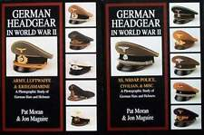 2 VOLUMES/LIVRE/BOEKEN : GERMAN CAPS/HAT/CHAPEAU/KÉPI ALLEMAND/DUITSE KEPIE/PET