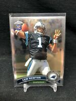 2011 Topps Chrome Cam Newton RC Silver #1 Panthers Rookie Patriots Y15