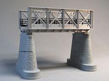 MTH RAIL KING SILVER GIRDER BRIDGE w/SUPPORT PILLARS o gauge train track 40-1102