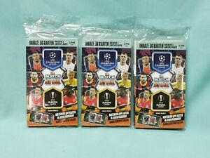 Topps Match Attax Champions League 2020/2021 3 x Blister Limited Edition  20/21