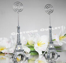 12 pc EIFFEL TOWER PARIS CARD HOLDERS WEDDING BRIDAL SHOWER PARTY FAVORS 15 ANOS