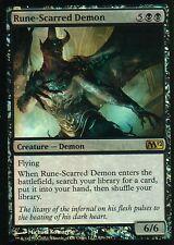 Runa-scarred Demon foil | nm - | m12 | Magic mtg