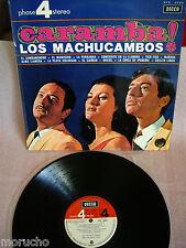 LOS MACHUCAMBOS:CARAMBA LP Vinyl  Spain 1966 Tico-Tico El Manisero Cielito lindo