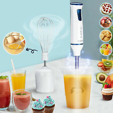 220V 1000W Electric Stick Hand Blender Mixer Whisk Food Fruit Grinder Juicer Set