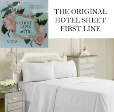 ACTIL First Line Hotel Cotton Sheet Set SINGLE KING SINGLE DOUBLE QUEEN KING new