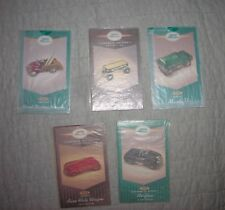 Hallmark Kiddie Car Collector Cards in original sleeves Certificates New